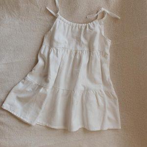Vestido Ruffle Lino